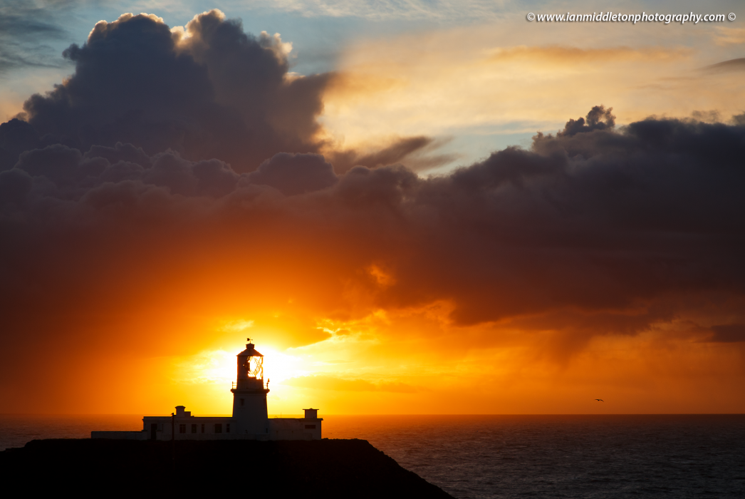 Strumble Head Lighthouse, Pembrokeshire, Wales.